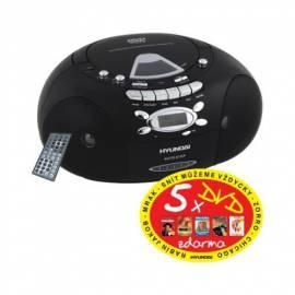 Bedienungshandbuch HYUNDAI TRC817ADR3B CD Radio Kassette mit schwarz