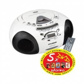 Service Manual HYUNDAI TRC817ADR3W CD Radio Kassette mit weiß