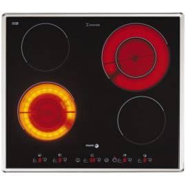 Handbuch für Keramik Glas Kochfläche FAGOR Innova 2VFT212X (902014699) Schwarz/Edelstahl/Glas
