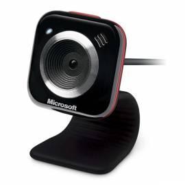 PDF-Handbuch downloadenMICROSOFT Webcam MS LifeCam VX-5000 rot (RSA-00018) schwarz/rot
