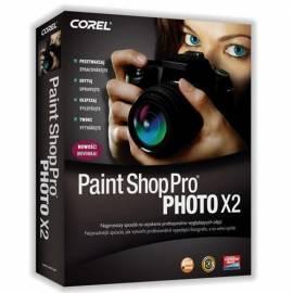 Software COREL Paint Shop Pro Photo X 2 CZE (PSPPX2CZPLPC) - Anleitung