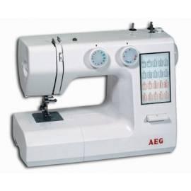 Nähmaschine AEG 824 weiß