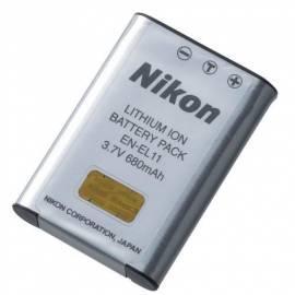 Handbuch für Video/Foto-Akku für NIKON EN-EL11 grau