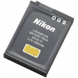 PDF-Handbuch downloadenVideo/Foto-Akku für NIKON EN-EL12 grau