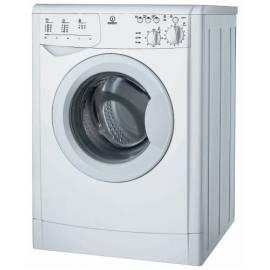 Bedienungsanleitung für Waschvollautomat INDESIT gewinnen 82 (EX)-weiß