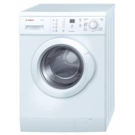 Benutzerhandbuch für Waschvollautomat BOSCH WLX 20361 würde