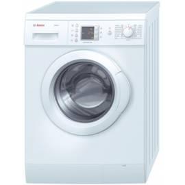 Bedienungsanleitung für Waschvollautomat BOSCH WAE 20463, weiß