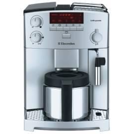 Bedienungsanleitung für Espresso ELECTROLUX Caffe Grande ECG 6200 Silber