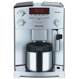 Handbuch für Espresso ELECTROLUX Caffe Grande ECG 6400 Silber