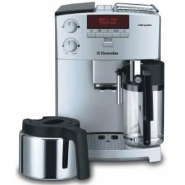 Datasheet ELECTROLUX Caffe Espresso Grande ECG 6600 Silber/Edelstahl