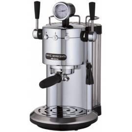 Bedienungsanleitung für ARIES-Espresso SCARLETT Novecento Silber 1387