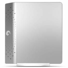 HDD Seagate FreeAgent Desk 640 GB, Silber, extern, USB 2.0, 3, 5