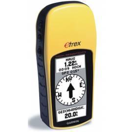Navigationssystem GPS GARMIN eTrex H gelb