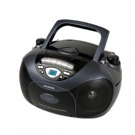 PDF-Handbuch downloadenHYUNDAI TRC591ABP CD Radio Kassette mit schwarz/blau
