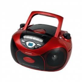 Benutzerhandbuch für Boombox mit CD HYUNDAI TRC 591 ABR rot