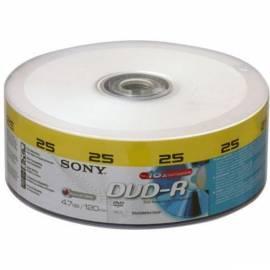 Bedienungshandbuch SONY Recording Media DVRSO0066