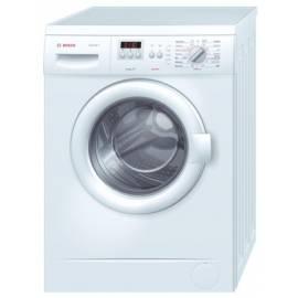 Bedienungshandbuch Waschmaschine BOSCH WAA2027SBY