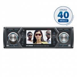 Benutzerhandbuch für Autoradio mit DVD-HYUNDAI-CRMD1723SU schwarz