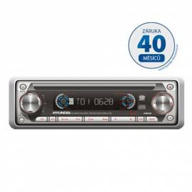 Bedienungsanleitung für CD-Autoradio mit HYUNDAI CRM2122 gray