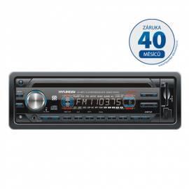Bedienungsanleitung für CD-Autoradio mit HYUNDAI-CRM2128SU schwarz