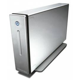 Bedienungshandbuch TOSHIBA 640 GB externe Festplatte (PX1393E - 2 32) aluminium