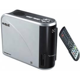 Bedienungsanleitung für Multimedia Center EMGETON GURU 2 mit 500 GB HDD Schwarz/Silber