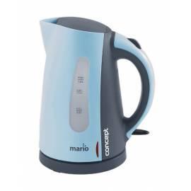 Bedienungshandbuch Elektrische Wasserkocher RK-MARIO Konzept 2140 grau/blau
