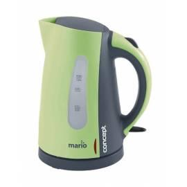 Elektrische Wasserkocher RK-MARIO Konzept 2140 grau/grün - Anleitung