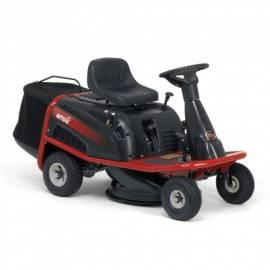 Traktor MTD MiniRider 60 schwarz/rot