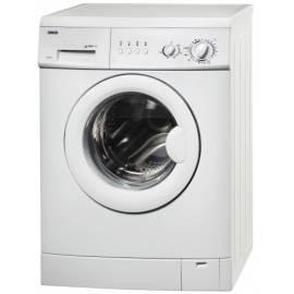 Waschmaschine Zanussi ZWS 2105 in Bedienungsanleitung