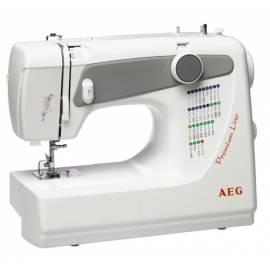 Nähmaschine AEG 2704 weiß - Anleitung