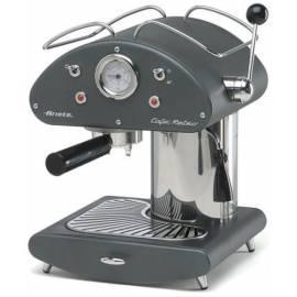 Datasheet Espresso: ARIETE-SCARLETT Retro 1385 Kapseln auf grau