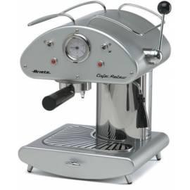Espresso: ARIETE-SCARLETT Retro 1385 Kapseln auf Silber Gebrauchsanweisung