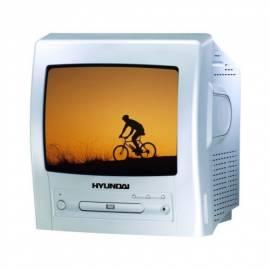 TV-HYUNDAI-CTV1401MDVD Silber Gebrauchsanweisung