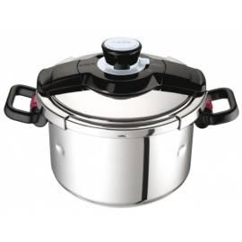 Bedienungshandbuch TEFAL Clipso Modulo P4080 Cookware Edelstahl