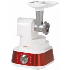 Küchenmaschine MOULINEX Masterchef FP 656 weiß/rot Gebrauchsanweisung