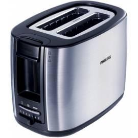 Toaster PHILIPS HD 2628/20 Schwarz/Edelstahl Bedienungsanleitung