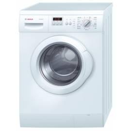 Handbuch für Waschvollautomat BOSCH WLF 20262 würde weiß