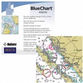 Bedienungshandbuch Karte von Garmin BlueChart CD, Europa/Afrika/Mittlerer Osten