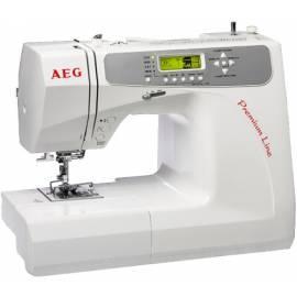Nähmaschine AEG 681 Premium Line weiß Gebrauchsanweisung