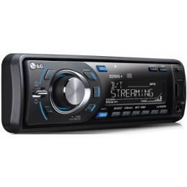Radio mit CD LG LAC6900RN rot/blau - Anleitung