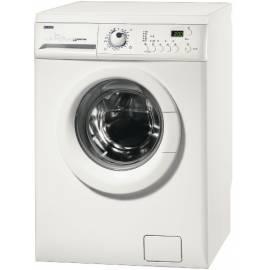 Handbuch für Waschmaschine ZANUSSI ZWS7108-weiß