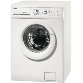 Waschmaschine ZANUSSI ZWS5108-weiß - Anleitung
