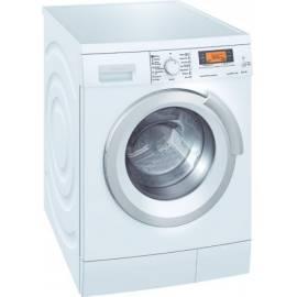 deutsche bedienungsanleitung f r waschmaschine siemens wm14s743by weiss deutsche. Black Bedroom Furniture Sets. Home Design Ideas