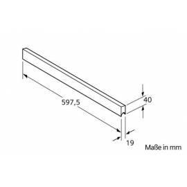 deutsche bedienungsanleitung f r zubeh r f r siemens dunstabzugshaube lz 33050 aluminium. Black Bedroom Furniture Sets. Home Design Ideas