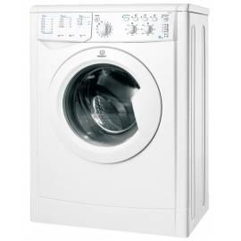 Datasheet Waschvollautomat INDESIT IWSC 4105 weiß