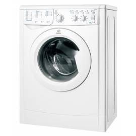 Waschvollautomat INDESIT IWSC 4085 (EU) weiß Gebrauchsanweisung