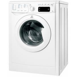 Bedienungshandbuch Waschvollautomat INDESIT IWE 5125 (EU) weiß