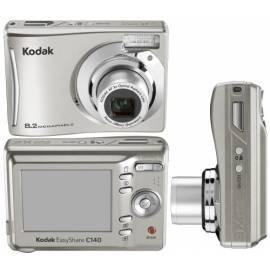 Benutzerhandbuch für KODAK EasyShare C140 Digitalkamera (CAT 846 4208) Silber