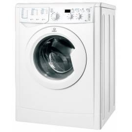 Handbuch für Waschmaschine INDESIT IWD 5085 weiß